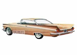 1959 Buick Le Sabre Hardtop Coupe - Model 4437 HB