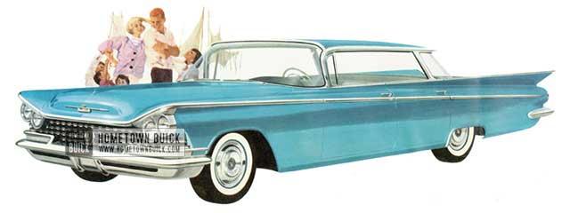 1959 Buick Le Sabre Hardtop Sedan - Model 4439