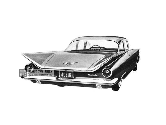 1959 Buick Le Sabre Sedan - Model 4411 HB