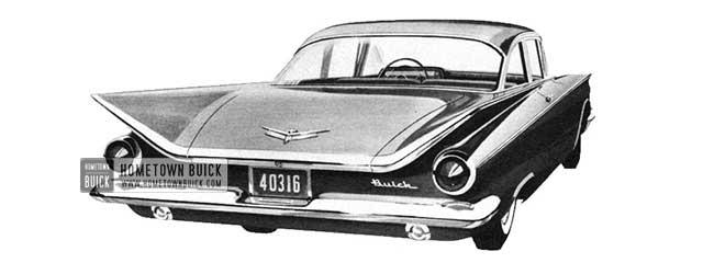 1959 Buick Le Sabre Sedan - Model 4411