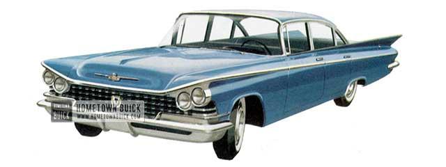 1959 Buick Le Sabre Sedan - Model 4419