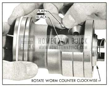 1959 Buick Loading Balls In Rack-Piston Nut