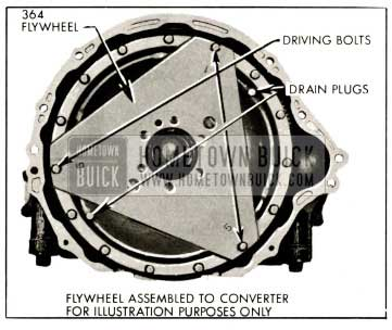 1959 Buick Location of Driving Bolt Holes