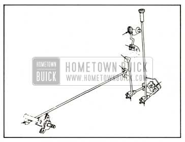 1959 Buick Lubrication of Door Locking Mechanism