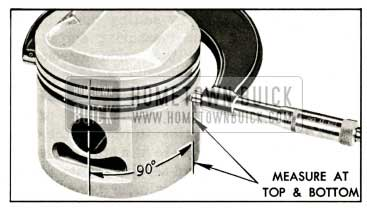 1959 Buick Measuring Piston with Micrometer