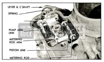 1959 Buick Metering Rod and Pump Operating Parts