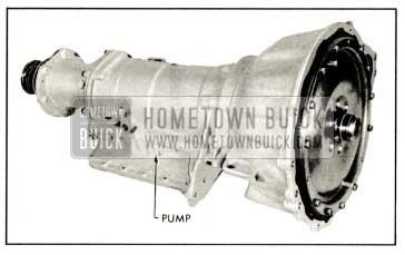 1959 Buick Oil Pressure check Location, right side
