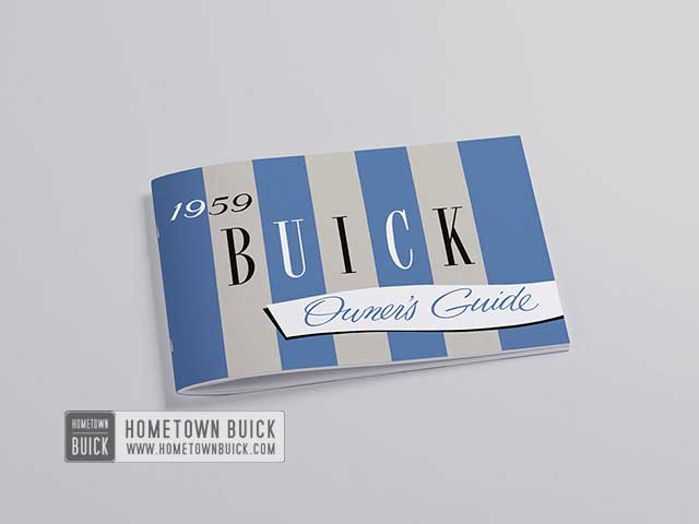 1959 Buick Owners Guide