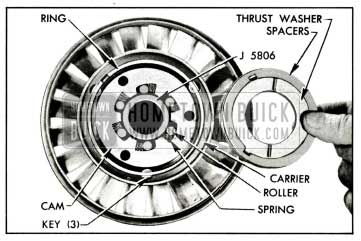 1959 Buick Parts in Rear Side of Stator