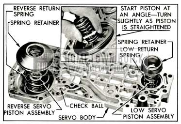 1959 Buick Parts Installed in Servo Body
