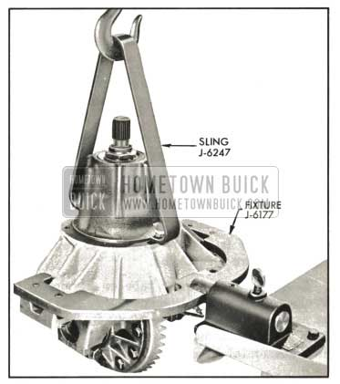 1959 Buick Placing Carrier In Holding Fixture