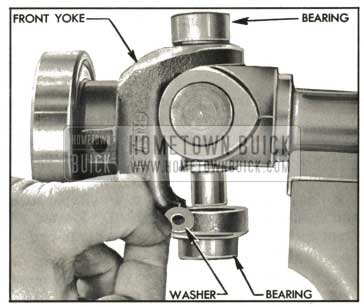1959 Buick Placing Washers Inside Front Yoke Bearing
