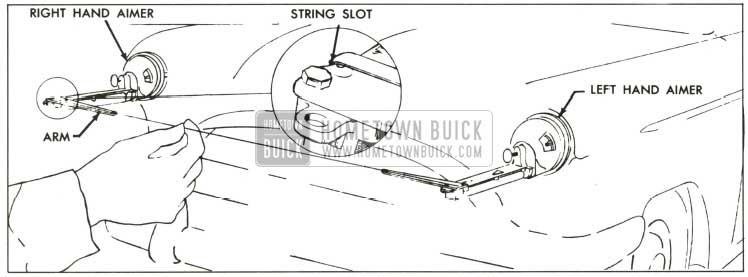 1959 Buick Positioning String