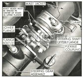 1959 Buick Power Steering Gear Coupling