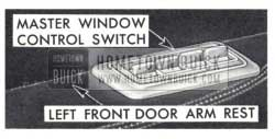 1959 Buick Power Windows Master Control