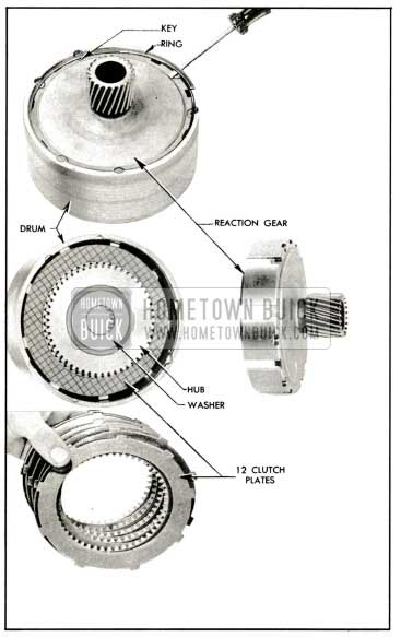 1959 Buick Removal of Reaction Gear, Hub, and Plates