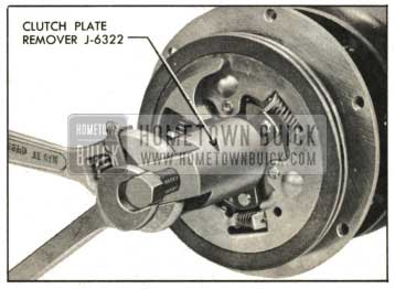 1959 Buick Removing Clutch Plates