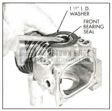 1959 Buick Removing Crankshaft Seal