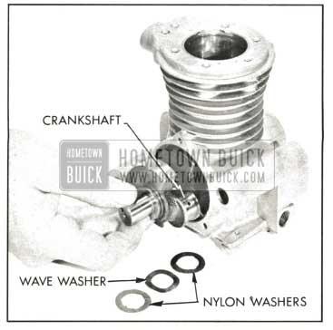 1959 Buick Removing Crankshaft