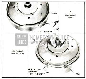 1959 Buick Removing Disk and Hub Assembly