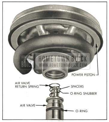 1959 Buick Removing or Installing Air Valve Assembly