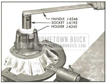 1959 Buick Removing Pinion Nut