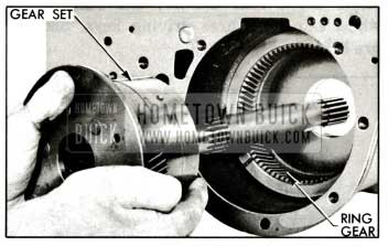 1959 Buick Removing Planetary Gear Set