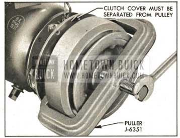 1959 Buick Removing Pulley