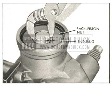 1959 Buick Removing Rack-Piston Nut End Plug