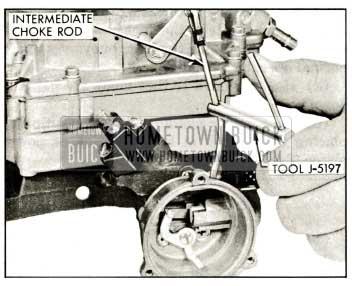 1959 Buick Rochester Carburetor Adjusting Choke Piston
