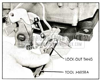1959 Buick Rochester Carburetor Adjusting Secondary Lock-Out