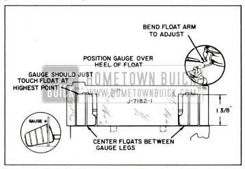 1959 Buick Rochester Carburetor Secondary Float Level Adjustment and Alignment