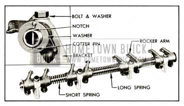 1959 Buick Rocker Arm and Shaft Assembly