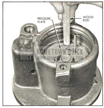 1959 Buick Seating Pressure Plate In Housing