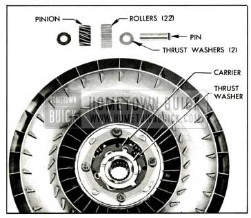 1959 Buick Second Turbine Parts
