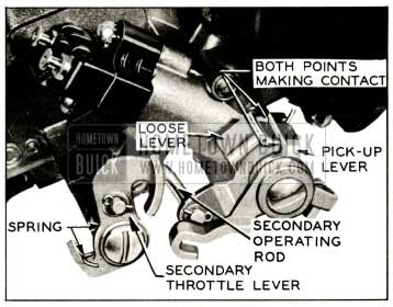 1959 Buick Secondary Throttle Opening Adjustment