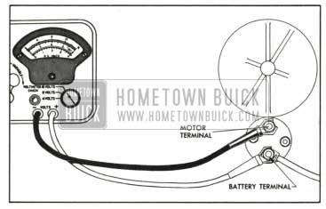 1959 Buick Solenoid Switch Contact Test Connections