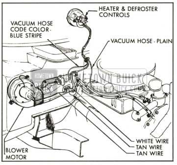 1959 Buick Heater And Air Conditioner