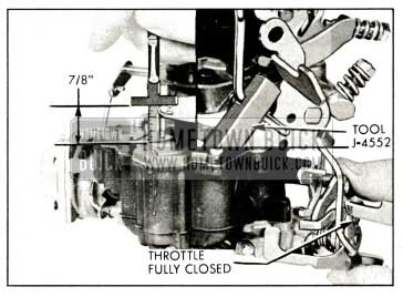 1959 Buick Stromberg Carburetor Accelerator Pump Adjustment