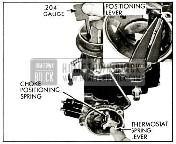 1959 Buick Stromberg Carburetor Choke Positioning Adjustment