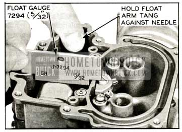 1959 Buick Stromberg Carburetor Float Level Adjustment