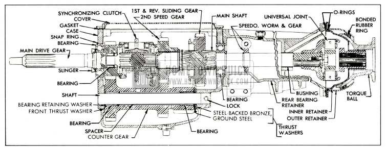 1959 Buick Synchromesh Transmission