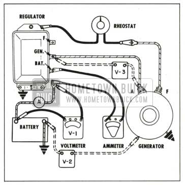 1959 Buick Testing Charging Circuit Voltage Drop