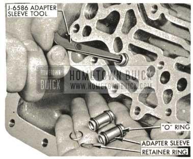 1959 Buick Triple Turbine Transmission - Adapter Sleeve Retainer Ring