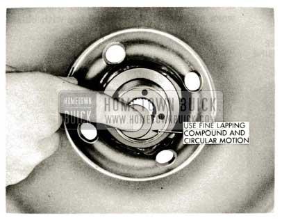 1959 Buick Triple Turbine Transmission - Anti-Leakdown Valve Seat