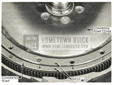 1959 Buick Triple Turbine Transmission - Assemble Converter Pump