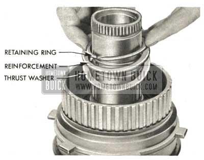 1959 Buick Triple Turbine Transmission - Assemble Rear Free Wheel Clutch