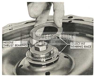 1959 Buick Triple Turbine Transmission - Assemble Select Fit Bearing Race