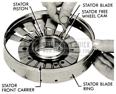 1959 Buick Triple Turbine Transmission - Blades and Cranks
