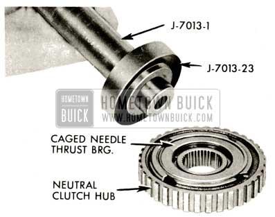 1959 Buick Triple Turbine Transmission - Caged Needle Bearing
